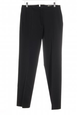 Blumarine Bundfaltenhose schwarz Business-Look
