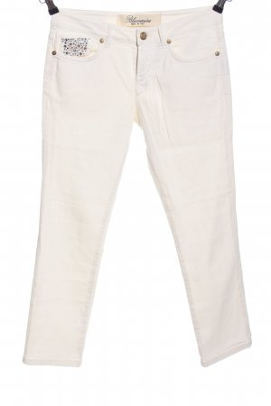 Blumarine Slim Jeans white casual look