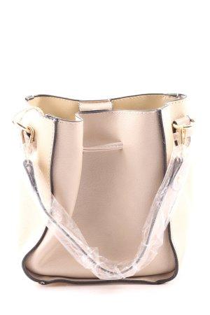 Blumarine Handtasche goldfarben-beige Casual-Look