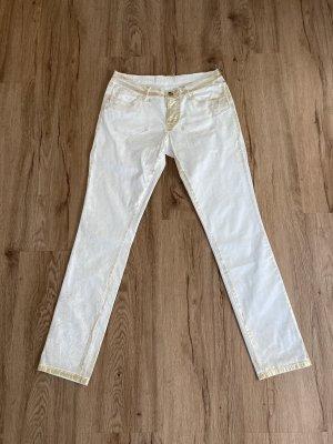 Blugirl Blumarine Jeans slim crème-doré