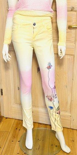 Blumarine Skinny Jeans primrose cotton