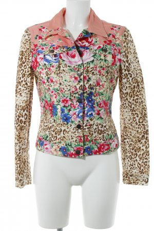 Blumarine Denim Jacket multicolored casual look