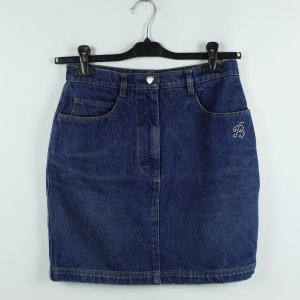 Blumarine Denim Skirt blue cotton