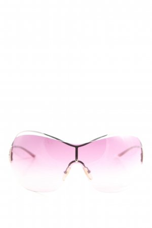 Blumarine Square Glasses pink wet-look