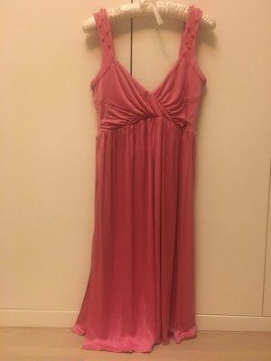 Blumarine Suknia wieczorowa różowy Tkanina z mieszanych włókien