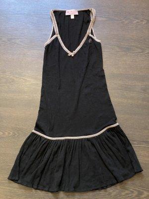 Blumarine Sukienka mini czarny Bawełna