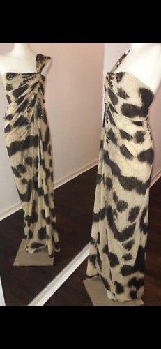 Blumarine Suknia wieczorowa beżowy-czarny