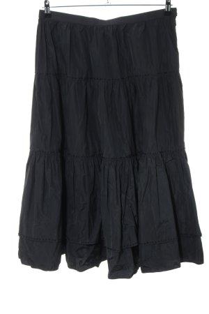 Blumarine Spódnica midi czarny W stylu casual
