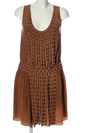 Blumarine Robe courte brun élégant