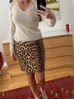 Blumarine Spódnica mini beżowy-brązowy