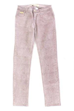 Blumarine Skinny Jeans lila Tierdruck Größe 36