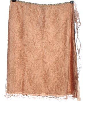 Blumarine Falda de encaje nude elegante
