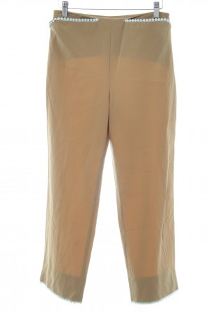Blumarine Jersey Pants beige-sage green casual look