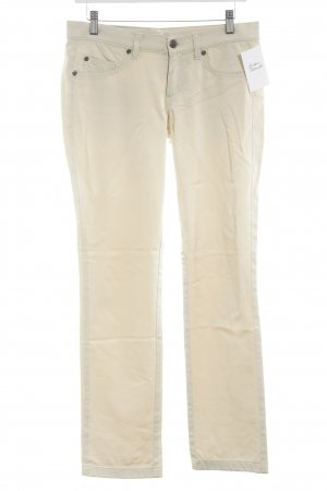 Blumarine Straight Leg Jeans cream casual look