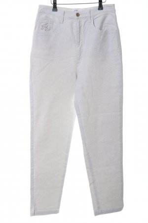Blumarine Stretch Trousers silver-colored casual look