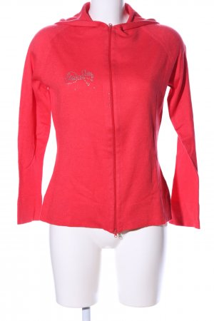 Blumarine Strickjacke rot Casual-Look