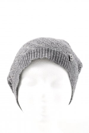 Blumarine Knitted Hat light grey casual look