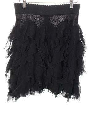 Blumarine Falda gitana negro elegante