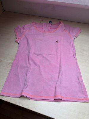 Blumarine Tshirt neonpink mit Swarovski Elements