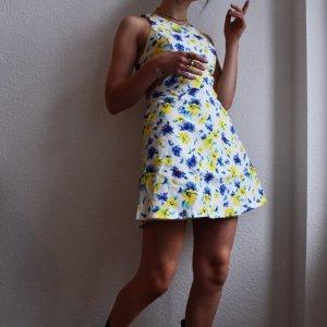 True Vintage Cut Out Dress multicolored