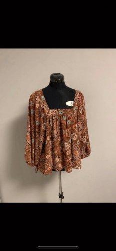 Primark Kimono Blouse brown-dark orange