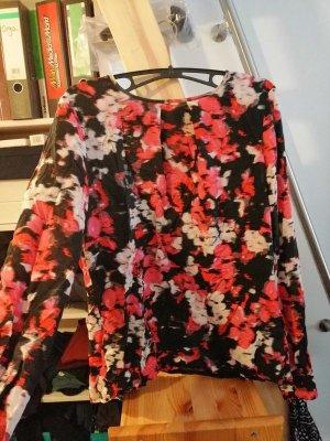 Blumen Flatter Bluse