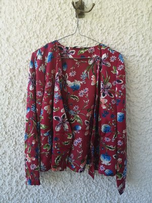 Only Kimono Blouse multicolored polyester