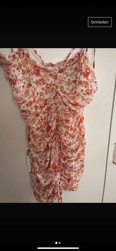 Sheinside Summer Dress nude-brick red