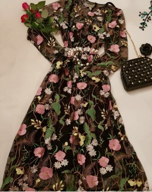 Blumen kleid gr.  34