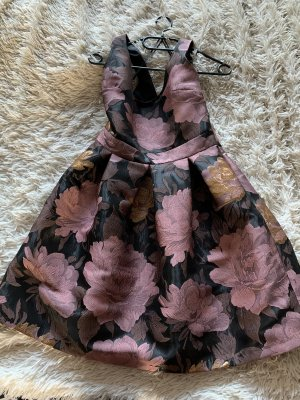 Ballonjurk paars-zandig bruin