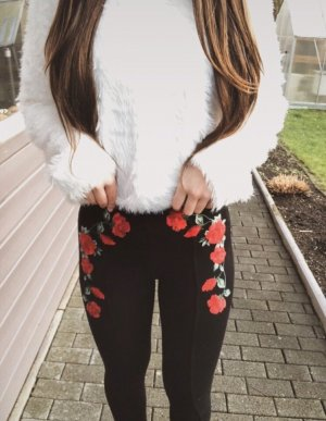 Blumen leggings