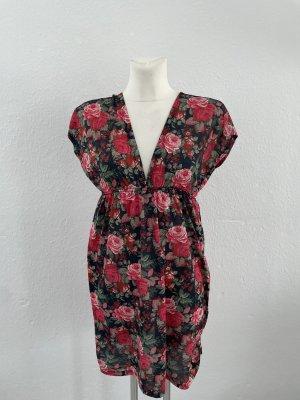 Blumen Mini Kleid gr 36 S Sommer