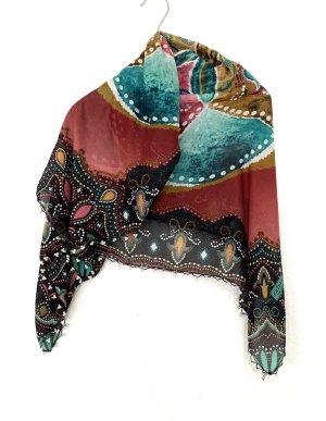 Blumen mit Perlen Halstücher Schal