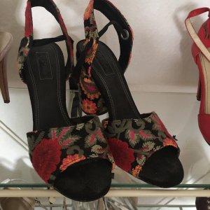 100% Fashion Zapato Tacón multicolor