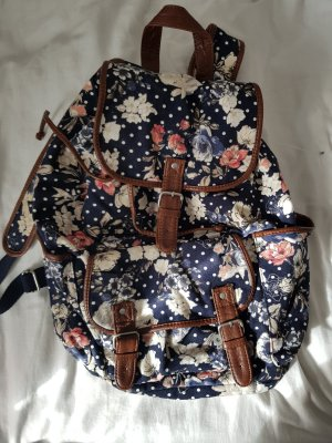 Aeropostale Backpack Trolley dark blue