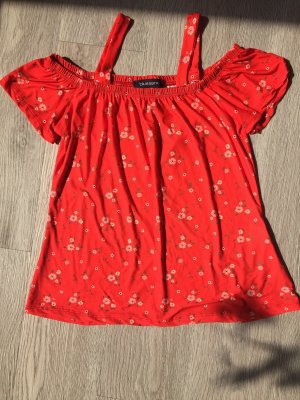 blue sand Carmen Shirt red