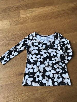 Blumen Shirt mit 3/4 Arm Größe M