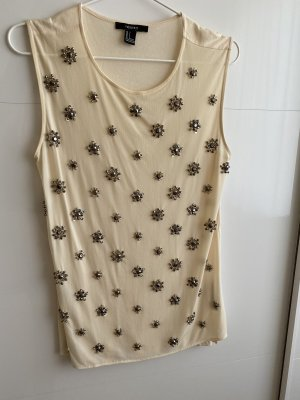 Forever 21 Lace Top cream