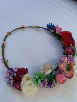 Blumenhaarkranz / Kunstblumen