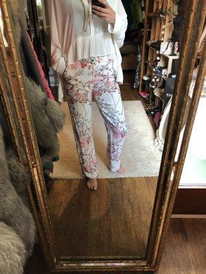 Zara Pantalone a zampa d'elefante multicolore