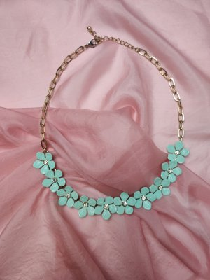 Accessorize Statement Necklace turquoise