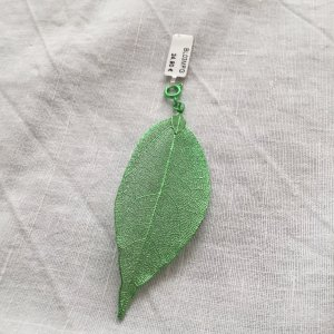 blumenkind Pendentif vert forêt