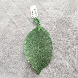 blumenkind Pendentif vert forêt métal