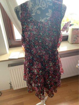 Bon Prix Chiffon Dress multicolored
