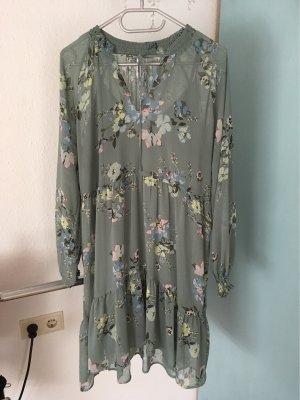 Colloseum Longsleeve Dress slate-gray-pale blue