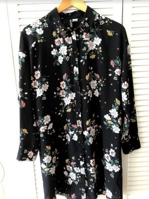 H&M Divided Longsleeve Dress multicolored polyester