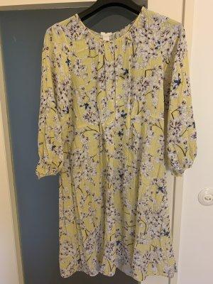 Anna Glover × H&M Sukienka midi Wielokolorowy
