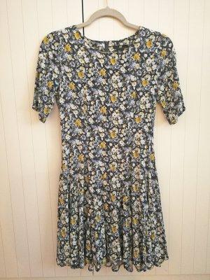Blumenkleid Gr. 34 *wie neu* Kleid für den Frühling