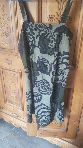 Blumenkleid khaki von benetton