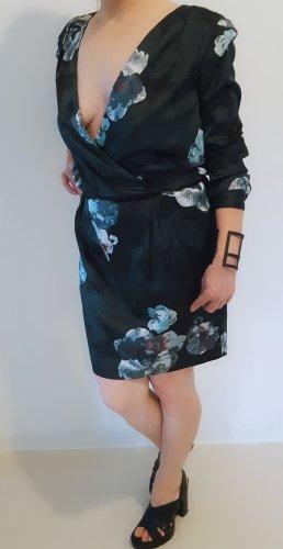 blumenkleid/ V -Ausschnitt Kleid
